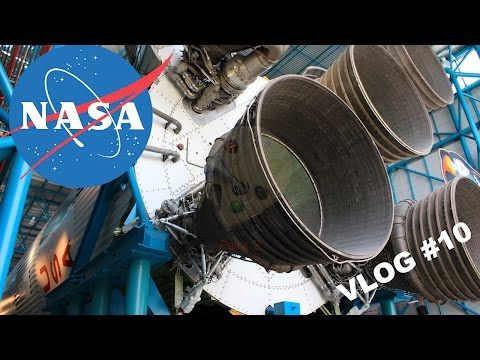 Nasa Kennedy Uzay Üssü | Kennedy Space Center | Amerika Vlog 10