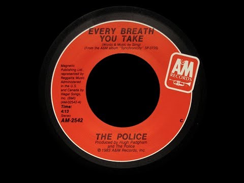 The Police ~ Every Breath You Take 1983 Purrfection Version