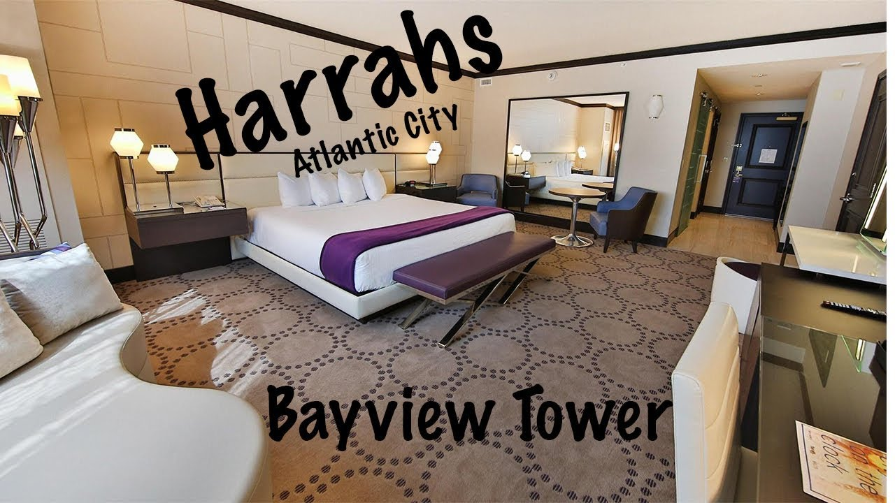 Harrahs Atlantic City Bayview Renvated Room Walkthough