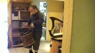 Landsknechtstrommel - Mittelalter Renaissance Trommel -  medieval  lansquenet   side drum