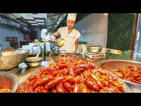 Thumbnail: Chinese Street Food Tour in Shanghai, China | Street Food in China BEST Seafood