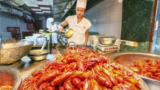 Chinese Street Food Tour in Shanghai, China | Street Food in China BEST Seafood