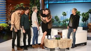 ellen taught fan to speak english