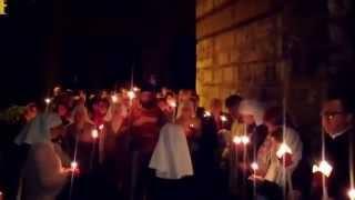 Пасхальный крестный ход в Русском Храме Святой Троицы в Афинах(Пасхальный крестный ход в Русском Храме Святой Троицы в Афинах Видео Новости Русские Афины., 2015-04-14T14:14:36.000Z)