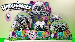 Hatchimals CollEGGtibles Blind Bags Opening Eggs Surprise Toy Opening