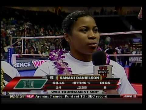 Rainbow Wahine Volleyball 2009 WAC Champs (part 7 of 7)