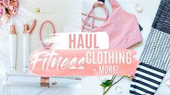 NEW WORKOUT CLOTHES HAUL + MORE!