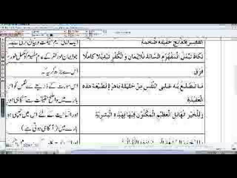M A Islamic studies, part 1,paper 5,tafseer,Al-Maoon,lecture