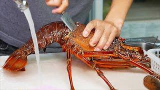 Japanese Street Food  The BEST SEAFOOD in Okinawa Japan!