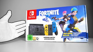 Nintendo Switch Fortnite Console 2 Unboxing [Special Edition]