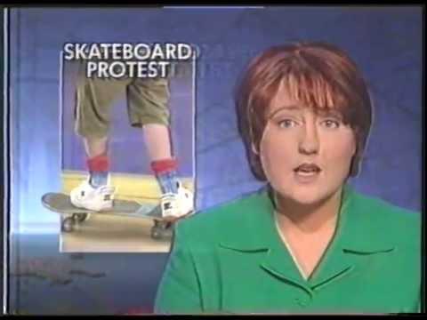 """Skate park protest"" Hobart, Tasmania (Early 90's)"