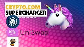 Crypto.com supercharger - Earn UNI tokens daily
