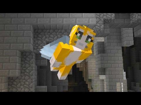 Minecraft Xbox - 4J Studios Vs Youtubers - Glide Mini-game