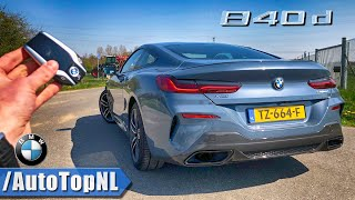 BMW 8 Series 2019 840d xDrive REVIEW POV Test Drive on AUTOBAHN & ROAD by AutoTopNL