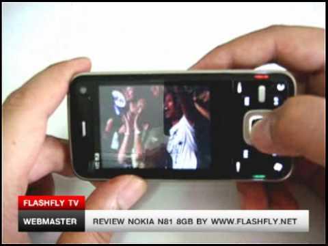 Review Nokia N81 8GB Part II by flashfly