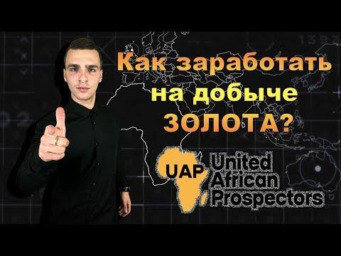 Как заработать на добыче золота. United African Prospectors. UAP