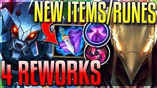 4 MINI-REWORKS & NEW ITEMS/RUNES! ADC Rework/Azir! (ARAM) - New 8.11 Changes - League of Legends