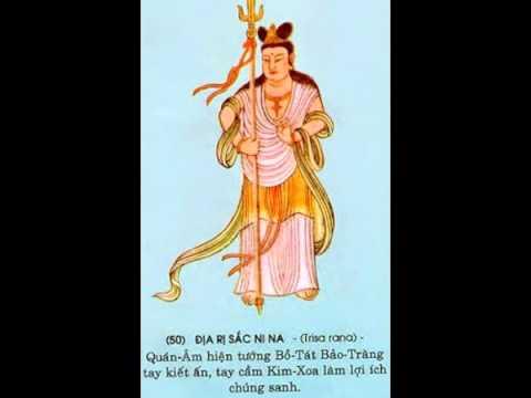 Hình ảnh 84 Vị Bồ Tát trong kinh Chú Đại Bi