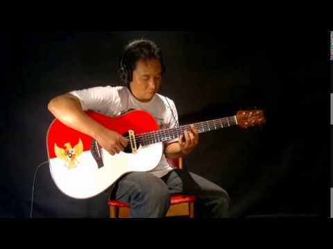 Indonesia Raya Fingerstyle Guitar