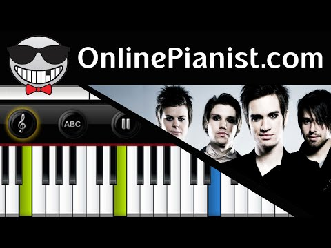 Panic! at the Disco - Build God, Then We'll Talk - Piano Tutorial (Advanced)