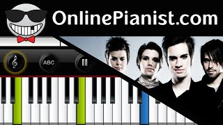 Repeat youtube video Panic! at the Disco - Build God, Then We'll Talk - Piano Tutorial (Advanced)