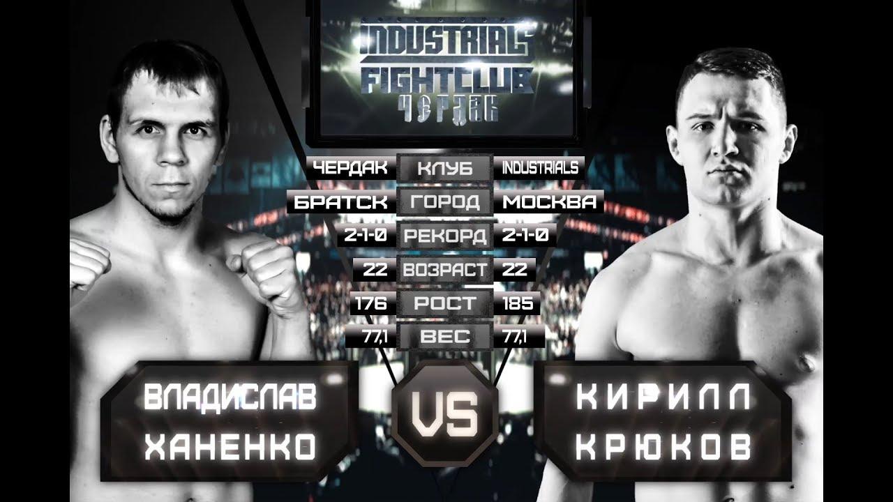 Владислав Ханенко VS Кирилл Крюков Industrials/Fight Club ...