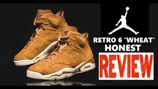 Air Jordan 6 VII Wheat Harvest Retro Sneaker HONEST Review + LIMITED EDITION UNBOXING