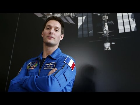 Space: French astronaut makes headlines as country's first spaceman in eight years
