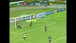 Gols - CRB 0 x 2 Criciúma - 27ª Rodada - Campeonato Brasileiro Série B 2012