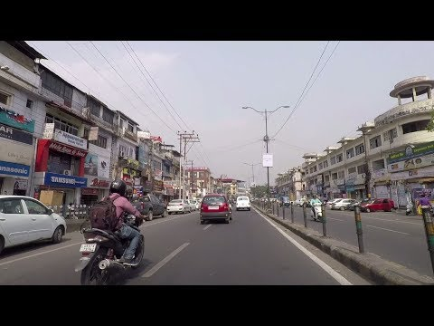 Driving in Dehradun - Uttarakhand, India