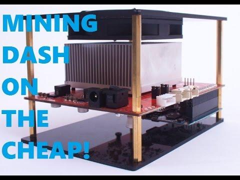 Mining hardware for DASH - YouTube