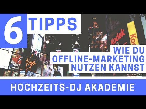 6 Tipps für dein Offline Marketing | HDJ45 | DJ Podcast