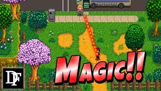 Become A Wizard In Stardew Valley Magic Mod