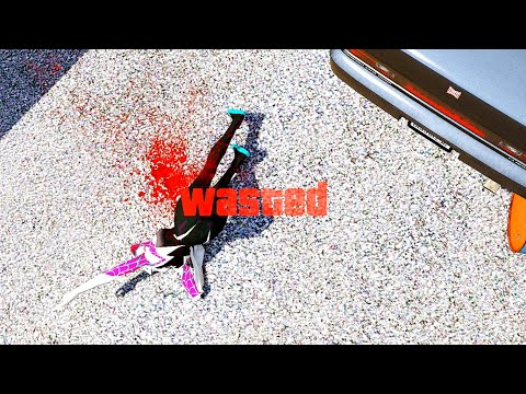 GTA 5 Epic Wasted Flooded Los Santos Spider-Woman ep.141 (GTA V Fails, Funny Moments)