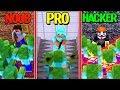 Minecraft - NOOB PRO HACKER - SECURE ZOMBIE BASE!
