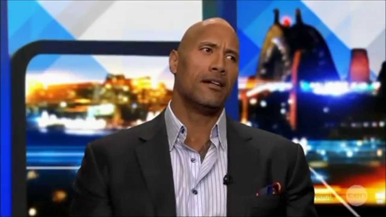 "Dwayne ""The Rock"" Johnson ""Free The Nipple"" BIGGEST ..."