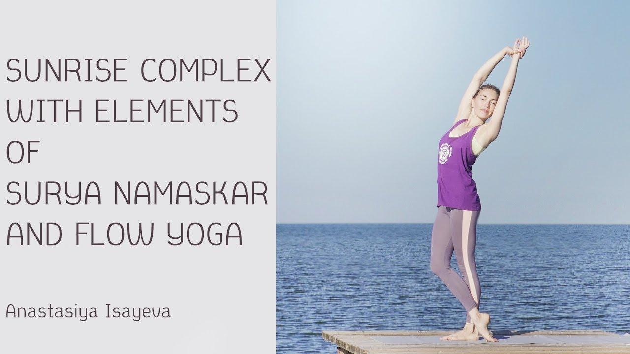 Sunrise Yoga Practice with Elements of Surya Namaskar and Vinyasa Flow