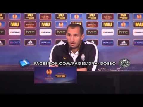 """Intervista a Chiellini: """"Importante non prender gol, uno glielo facciamo""""   30/04/2014"""
