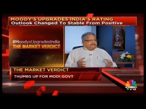 The Market Verdict on Moody's India Rating Upgrade | CNBC TV