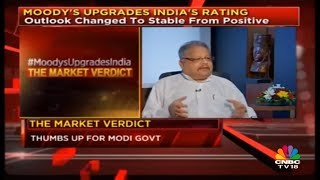 The Market Verdict on Moody's India Rating Upgrade | CNBC TV18