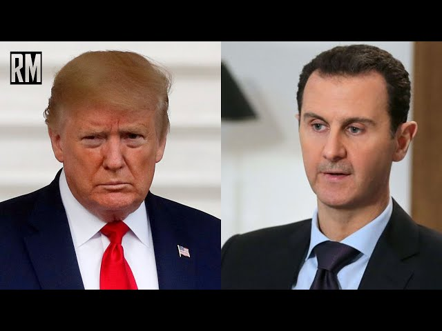 Trump Claims He Wanted To Assassinate Bashar Al-Assad