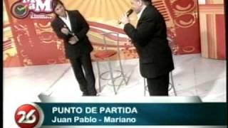 "Cantando en el programa ""Minuto a Minuto"" con Susana Rocasalvo por Canal 26 - Buenos Aires"