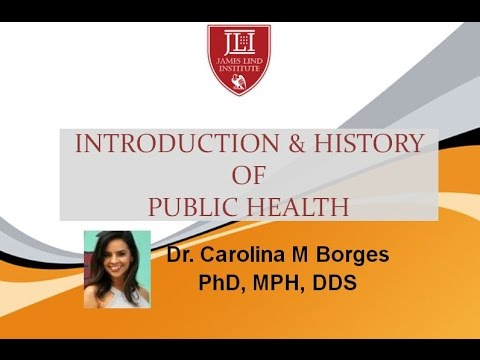 Introduction and History of Public Health