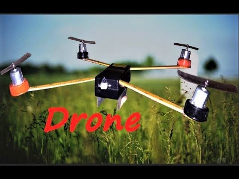 How To Make A Homemade Mini Drone Out Of WasteVery Cheap