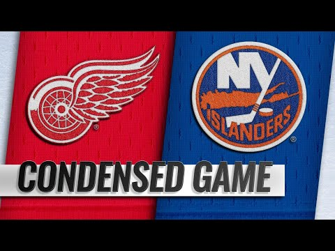 12/15/18 Condensed Game: Red Wings @ Islanders