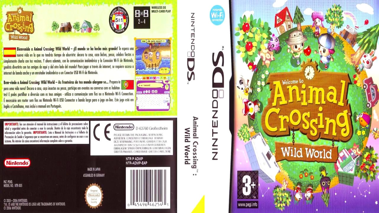 descargar animal crossing para nds en español