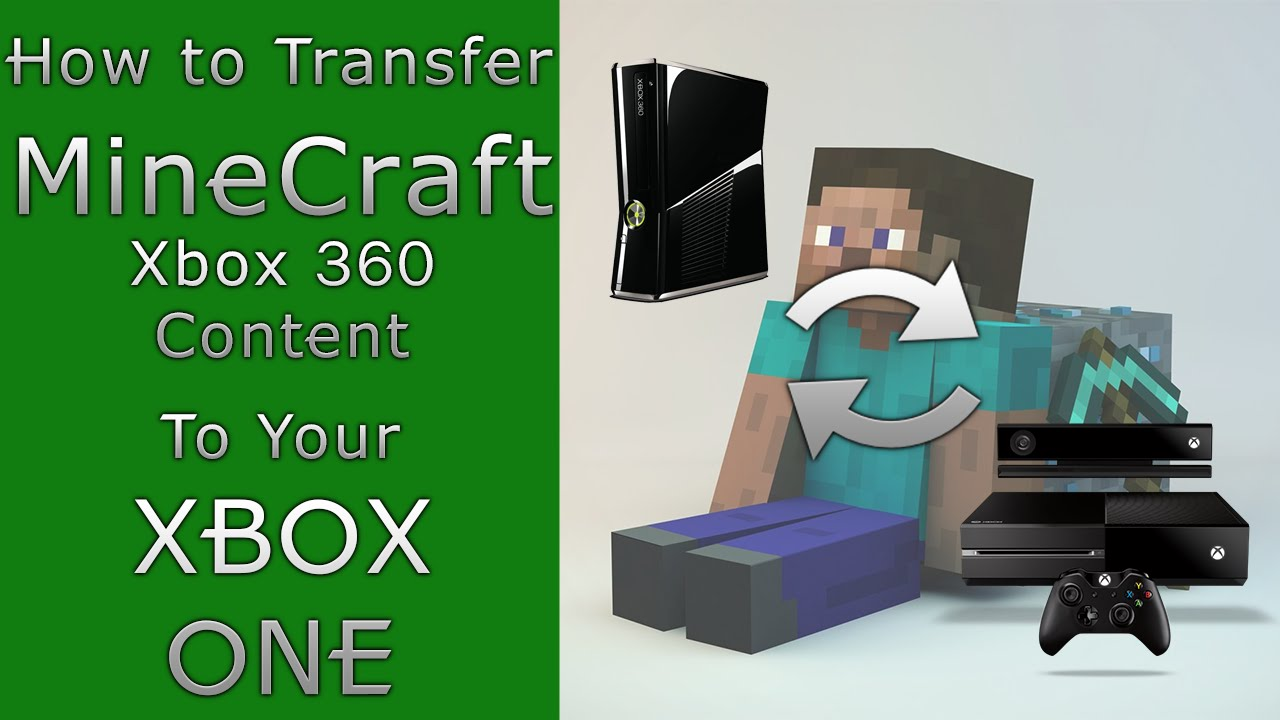 How to transfer Minecraft Content (Including Maps!) from Xbox 360 to Xbox  One | Achievements