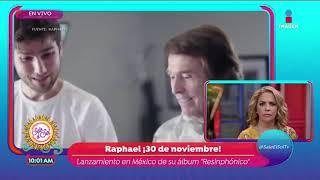 Raphael nos llama para contarnos de su nuevo disco