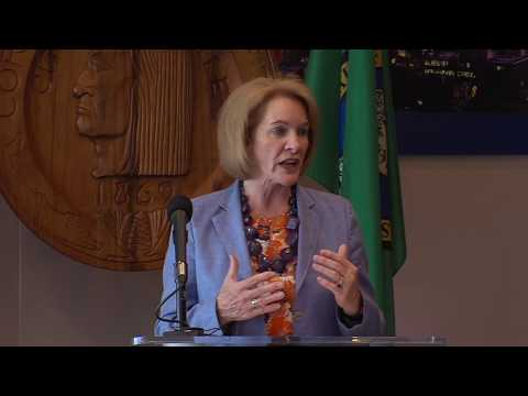 Mayor Durkan delivers remarks following Council's passage of a new business tax