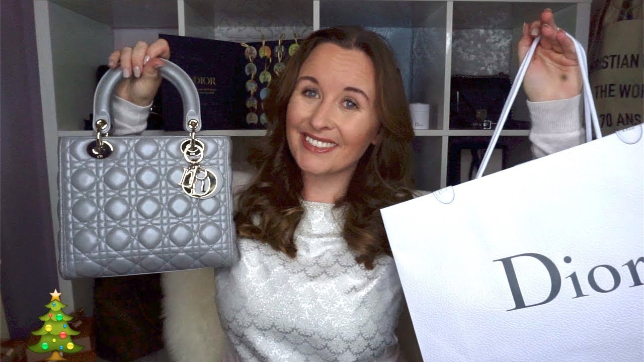 b4fa1b8c397 Lady Dior Bag Review and What I Got For Christmas - YouTube